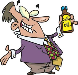 """Who are the REAL """"Snake Oil"""" Salesmen?"""