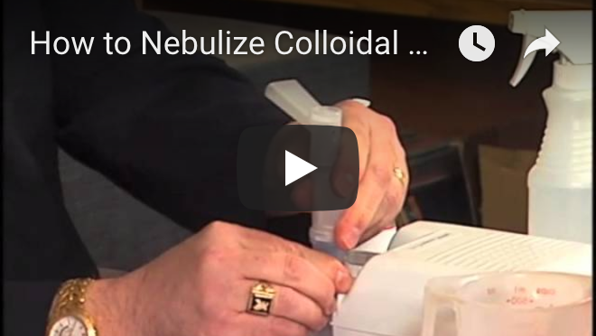 How to Nebulize Colloidal Silver