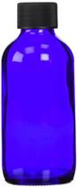 Cobalt Blue Glass Bottle