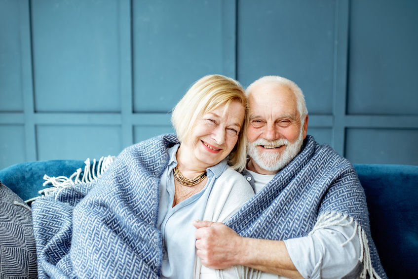 Happy senior couple at home - Your Stories: Woman's Cellulitis Was Healed with Colloidal Silver!